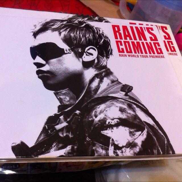 Rain演唱會2DVD
