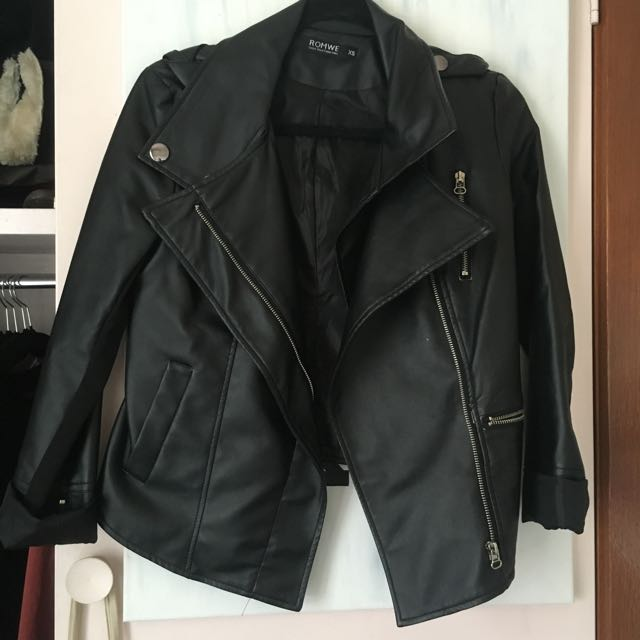 {PENDING} Romwe Leather Jacket
