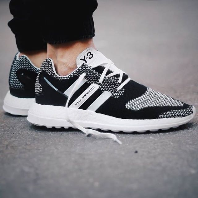 10c43be64d12f Y3 Pure Boost ZG Knit