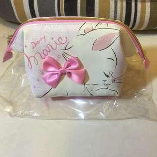 日本正版 瑪麗貓皮革質化妝包 全新