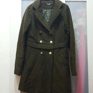 【LDS】雙排扣大衣