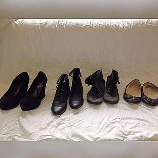 Heels, Boots, Flats