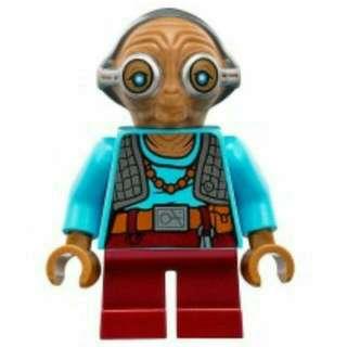 Lego Starwars The Force Awakens Minifigures 75139 - Maz Kanata