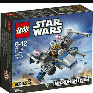 Lego Starwars Microfighters - Resistance X-Wing Fighter 75125