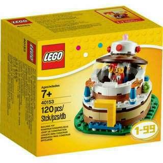 Lego Birthday Cake 40153