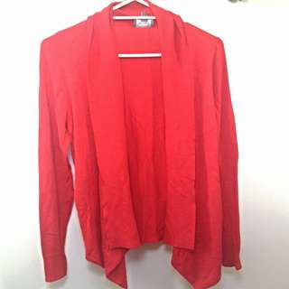 Red Cardigan (size S)
