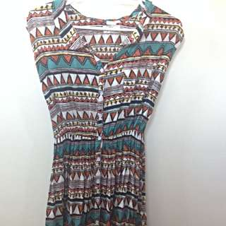 Aztec Summer Dress (size S)