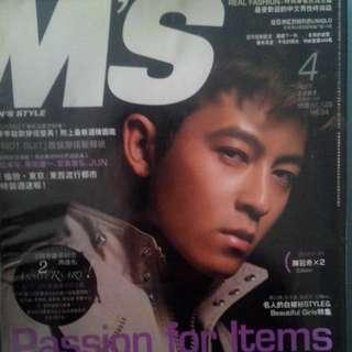 絕版M'S 男性時尚雜誌(2007年4月號)