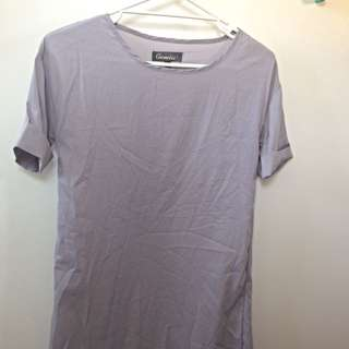 Grey T-shirt Dress Never Worn (size S)