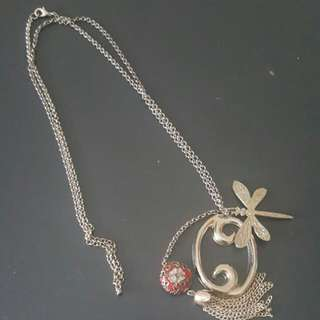 Necklace With Various Charms