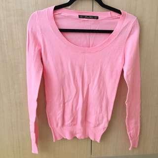 Pink Zara Knit Jumper