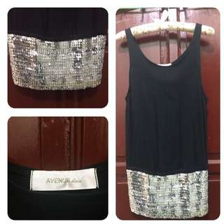 PRELOVED Bling-Bling Top