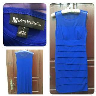 REPRICE!! PRELOVED Blue Dress