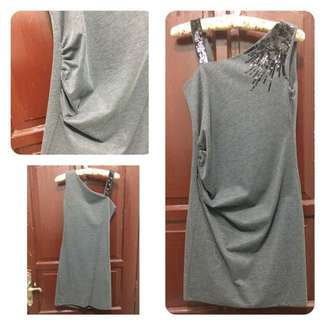 REPRICE! PRELOVED One Shoulder Dress