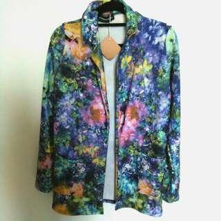 [BN] UK Made Floral Spring Jacket