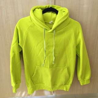 Lime Green Hoodie