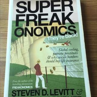 SuperFreakonomics, They Are Back!