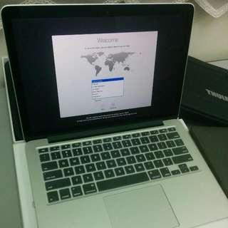 """Macbook Pro 13"""" Early 2015 256GB (warranty 2018)"""