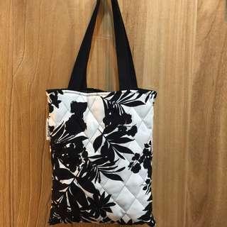 韓國時尚❤️休閒手提花布包