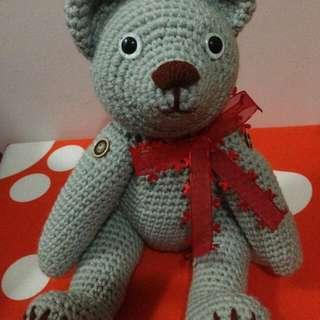 Handmade Crochet Bear Amigurumi