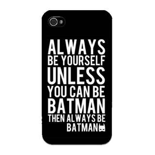 Always Be Batman Phone Case