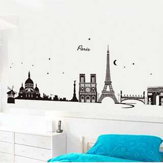 Reduced To Clear! - Eiffel Tower Wall Sticker