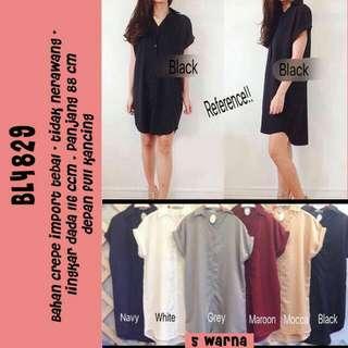 SHIRT DRESS BL4829