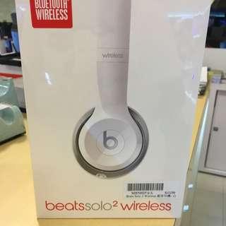 全新未拆 原廠保固 Beats Solo2 Wireless耳罩式耳機