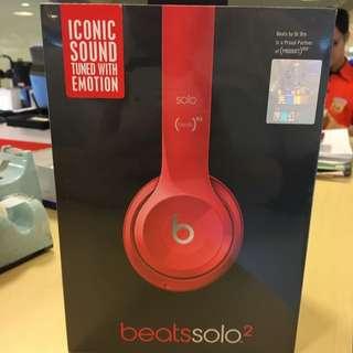 全新未拆 原廠保固 Beats Solo2 耳罩式耳機