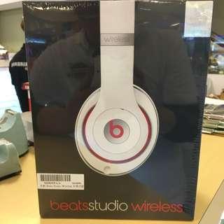 全新未拆 原廠保固 Beats Studio Wireless耳罩式耳機