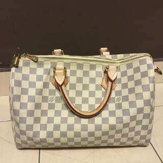 Authentic LV Bucket & Premium Quality Speedy 35 Azur Lv