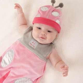 Baby Aspen粉粉瓢蟲裝