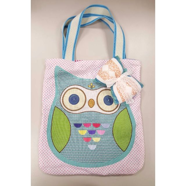 【PIPPY】貓頭鷹手提布袋/ 肩提包