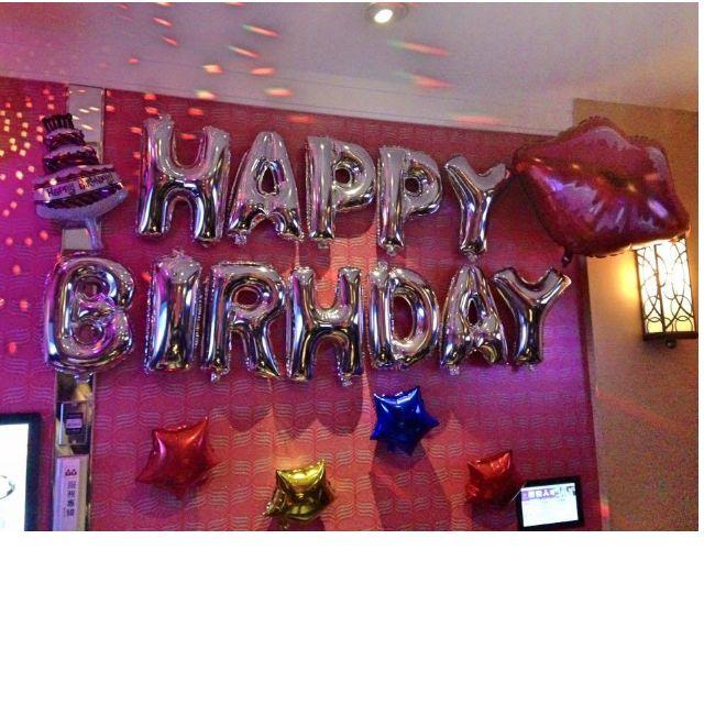 生日氣球 2~3月份套餐  派對 生日 告白 字母氣球