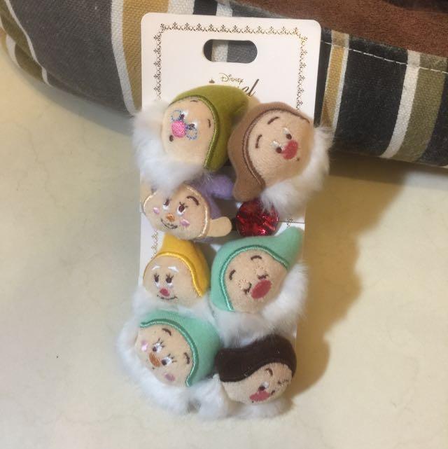 日本迪士尼 小矮人 髮飾 全新