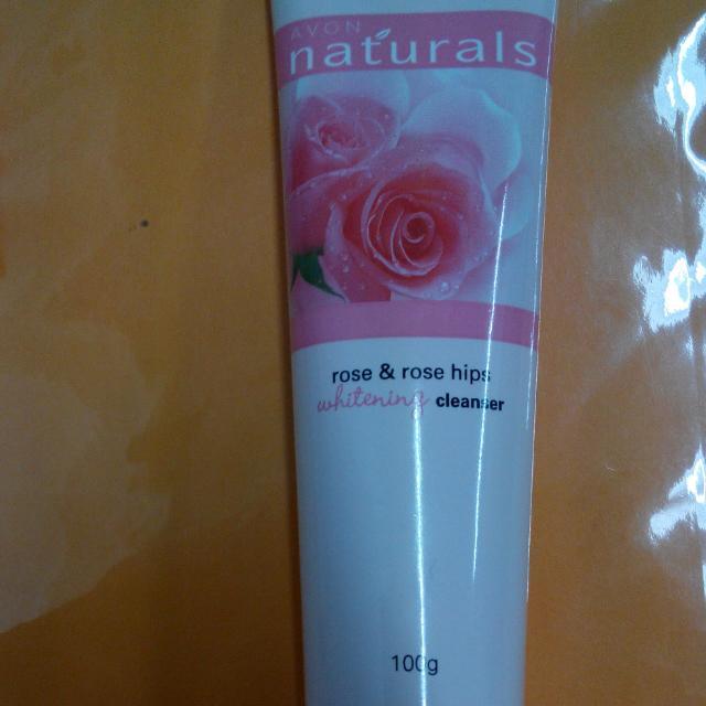 雅芳 植物系列  玫瑰嫩白潔容霜 #旋轉美妝跳樓大拍賣