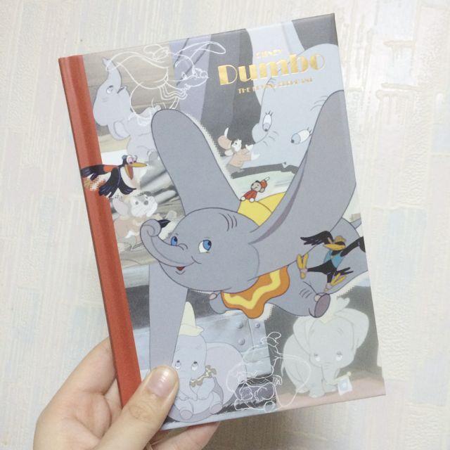 待匯款 日本 迪士尼 小飛象 Dumbo 行事曆 手帳 2016 樣本