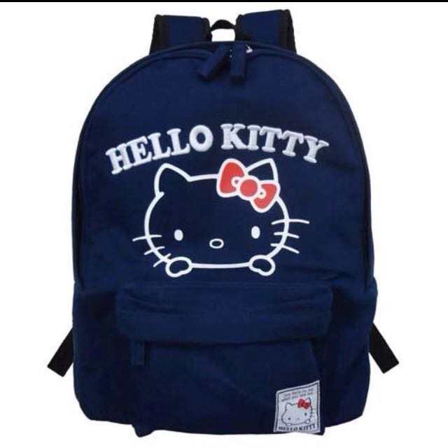 收 此款Hello Kitty後背包