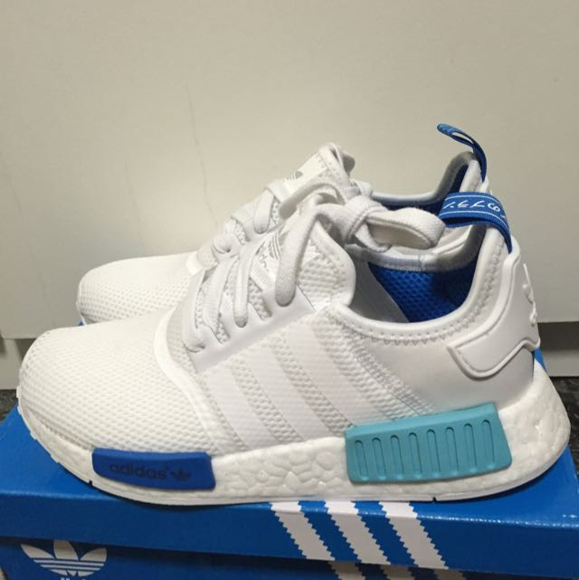 The Adidas Nmd White Blue Glow {Forum Aden}