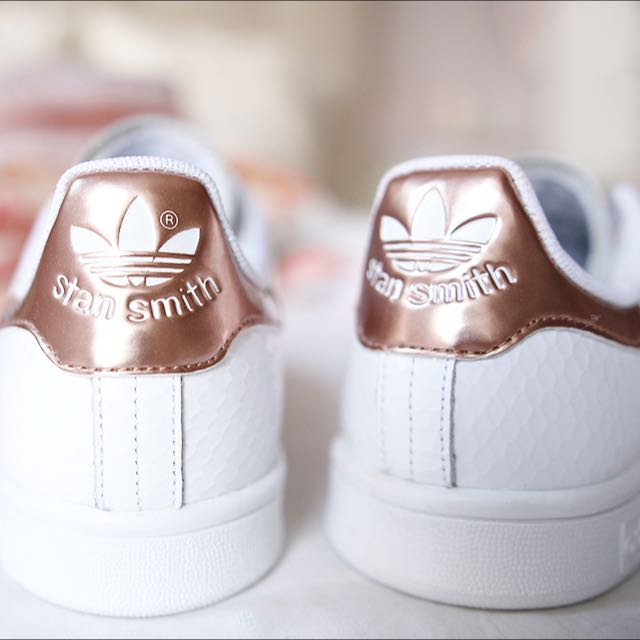 adidas stan smith rose gold women 39 s fashion on carousell. Black Bedroom Furniture Sets. Home Design Ideas