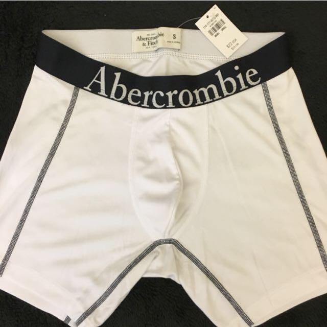 全新)A&F 運動款logo質感短褲內搭褲 S號