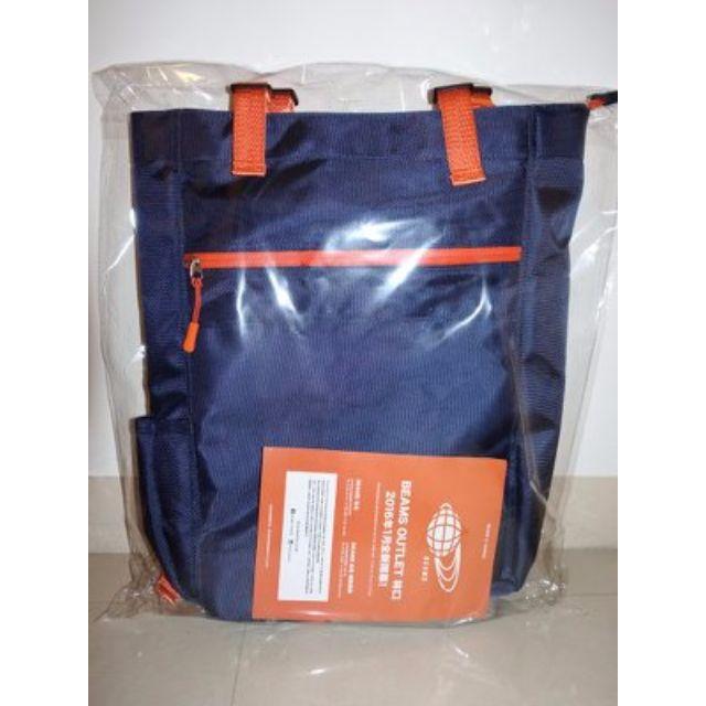 ⬇️降價【全新】BEAMS X 7-11 後背兩用包 (海軍藍 包裝都還在喔!)