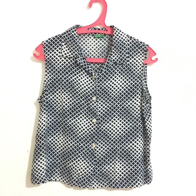 Benetton Square Top