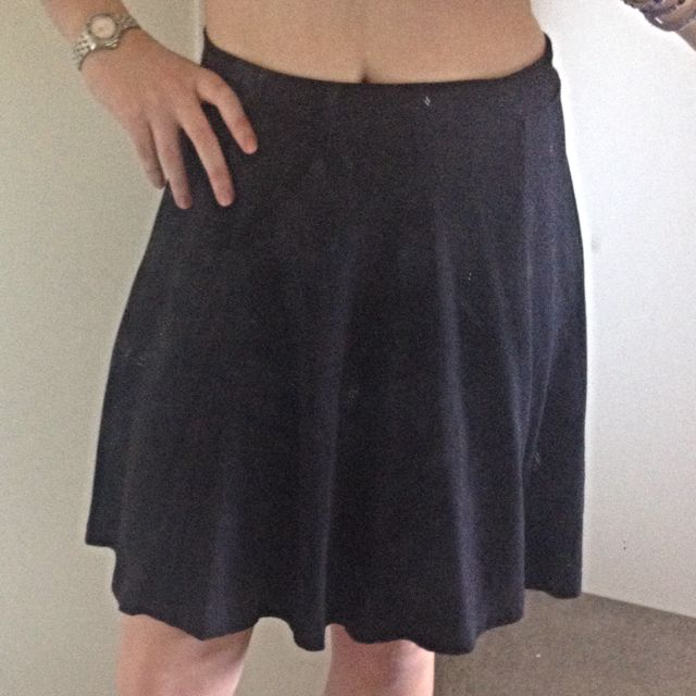 Black Skater Skirt (size 12)