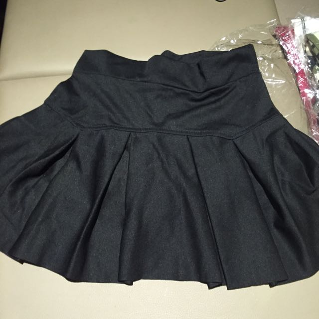 Black Tennis Skirt