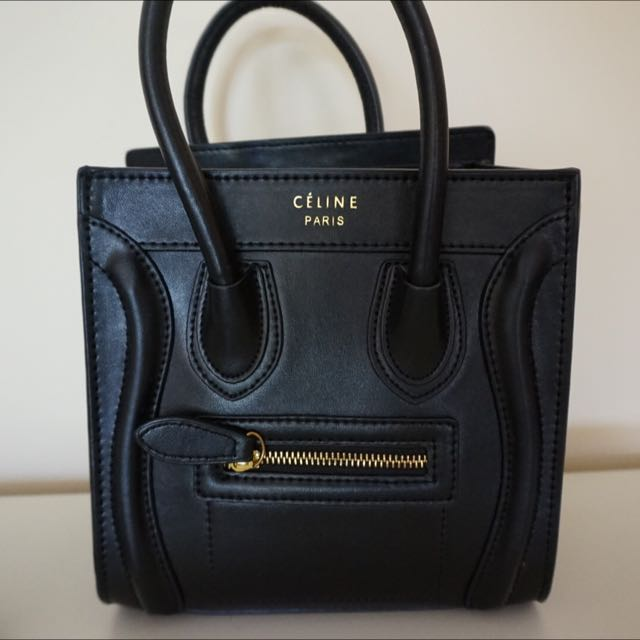 Celine Nano Faux Luggage