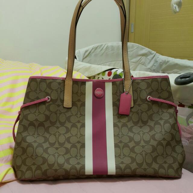 COACH購物袋(大款)