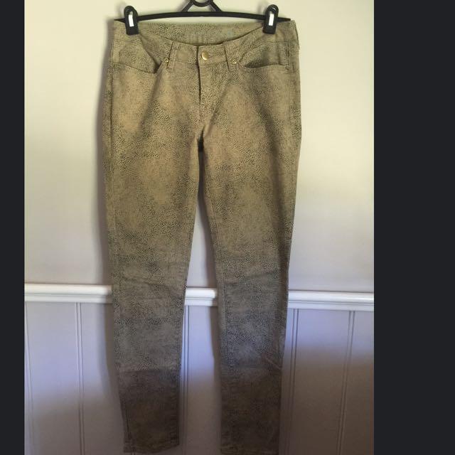 Emerson Snakeskin Jeans