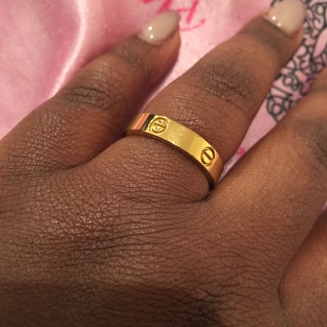 Cartier Gold Ring