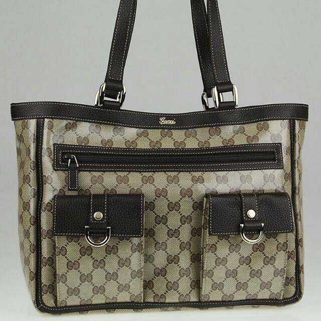 5da4a6774c1450 Gucci Abbey Tote Bag in GG Monogram, vintage nt LV, Chanel, Prada ...